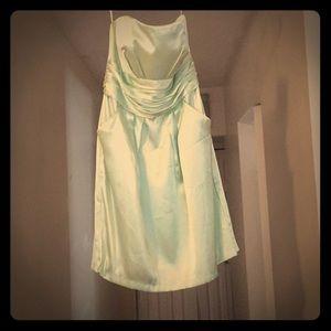 David's Bridal Bridesmaid Dress. Size 10. Worn 1x.
